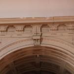 Arco da capela de S. Cristóvão, dos Saros ou dos Rangéis
