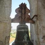Pormenor da antiga torre sineira